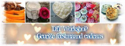 Workshop: Kerstcadeautjes maken