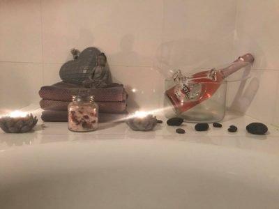 Romantische at home spa